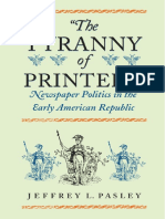 PASLEY (2001) the Tyranny of Printers
