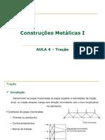 Aula 4-TRAÇÃO_Construcoes Metalicas I