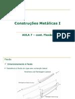 Aula 7-FLEXÃO_Construcoes metalicas I.pdf