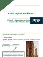 Aula 3-SEGURANÇA_Construcoes Metalicas I