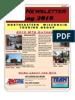 Chapter Newsletter AUG 2010 NSL