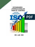 Estándares Internacionales para el Control en las ISO