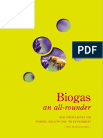 Biogas an All-rounder New Opportunities for Farming, Industry and the Environment