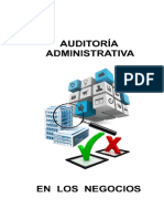 Auditoría Administrativa en los Negocios