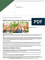 Modelo Canvas_ Genera Un Plan de Negocio en Cinco Minutos