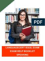 Exam Help Booklet Speaking LC 28-09-2016