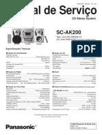 Panasonic Sc Ak200