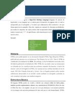 Conceptos Básicos HTML