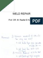 Weld Repair21!5!2011