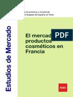 FRANCIA Mercado de Los Cosméticos