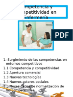 Competencia y Competitividad en Enfermería (1)