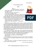 O Principezinho - teste avaliação (blog9 15-16)