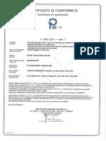 CERTIFICAT CONFORMITE N°800 2011 REV 1 - MAGNUM NF EN 13476-3 2008