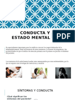 Conducta y Estado Mental