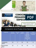 Temario de Prueba Nacional Clasificatoria de Nombramiento Docente (2017)