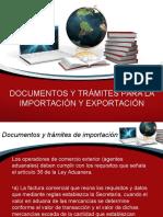 Aduanas-importación y Exportación