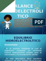 Balance HidroelectroliticoAAAAAAAAAAAAAAAAA
