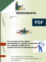 Diapositivas Demografia