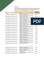 Sinapi - Composição Sintética SP 2016.8 - Desonerado