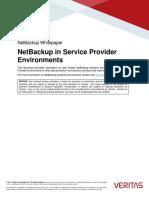 NBU 8.0 White Paper NetBackup in Service Provider Environments Mar 2017