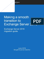 Smooth Transition to Exchange Server 2016