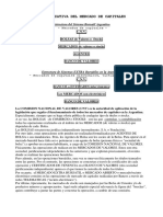 Mercado de Capitales Organizacion