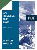 Cleo Skousen_Los Primeros 2000 Años