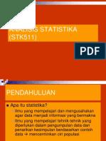 Materi I-Pendahuluan 2015 Statistika IPB
