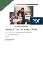 building team final draft pdf