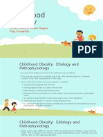 nurs 5023- community teaching presentation- childhood obesity- re-think your drink