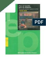 UNFV ANTROPOLOGIA  Ames Ramello, Patricia - Para ser iguales, para ser distintos.pdf