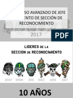 10 años del Curso de Líderes de la Sección de Reconocimiento de los Batallones de Infantería