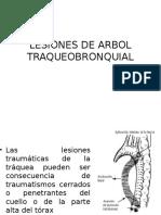 Lesiones de Arbol Traqueobronquial