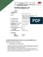 Informe de Quinta Valorizacion