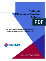 Taller de +ëtica en la Funci+¦n P+¦blica - PRACTICANTES 2017