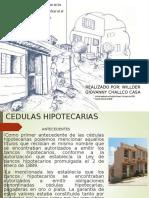 CEDULAS HIPOTECARIAS
