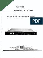 SGC800 Manual