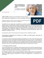 Entrevista a Michel Petit Sobre La Lectura