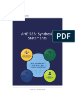 ahe 588- sythesis statements kf 2017