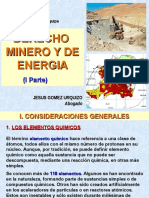 Derecho Minero 1ra. Parte 2017