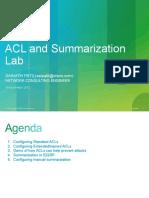19 Nov ACL and Summarization Lab Session4 Sainath