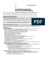 Residency and Pet Application