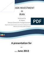 Foreign Investment in Iran (Pptx)