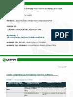 Cuadro comparativo La investigación educativa en México (2)