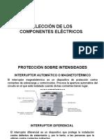 Selección de Los Componentes Eléctricos