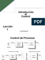 Principios de Control e Instrumentación2016
