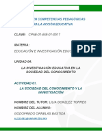 OrnelasG La Sociedad Del Conocimiento y La Investigación.doc