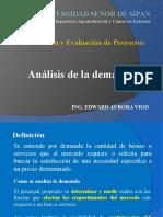 Sesión 5 FGEP Analisis de La Demanda
