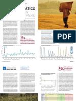 Cambio Climático y Producción Agrícola en Perú