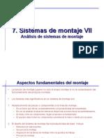 7-Sistemas de Montaje III. Analisis